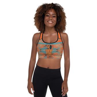 On sale Paul Gauguin sports bra by neoclassical pop art online designer brand store shop near by