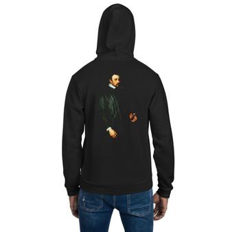On Sale Van Dyck Portrait of Adriaen Moens Hoodie sweater by Neoclassical pop art