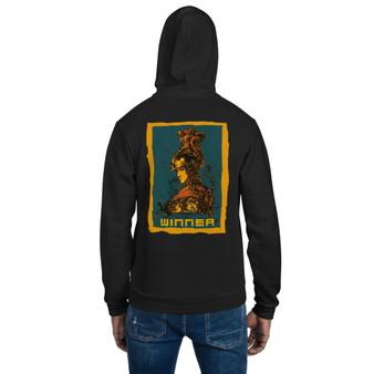 On Sale Rembrandt Winner Hoodie sweater  by Neoclassical Pop Art