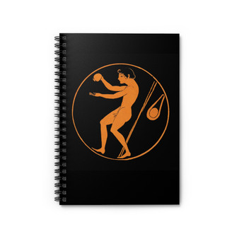 On Sale Greek Spiral Notebook - Ruled Line by Neoclassical Pop Art