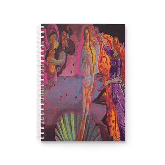 On Sale Botticelli Birth of Venus Venus Spiral Notebook by  Neoclassical Pop Art