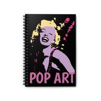 On Sale Marylin Monroe Pop Art Portrait Spiral Notebook - Ruled Line Neoclassical Pop Art