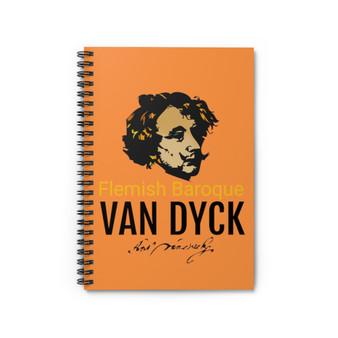 Van Dyck | Flemish Spiral Notebook - Ruled Line