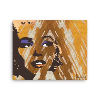 On Sale Marylin Monroe Pop Art Portrait Print on Canvas by Neoclassical Pop Art