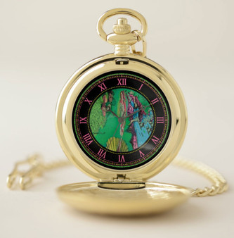 Botticelli   Venus rising from the Water Pocket Watch