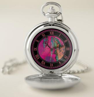 Botticelli | Venus Pocket Watch Pink Silver