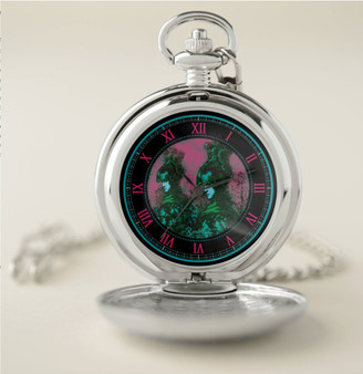 Rembrandt Warrior Silver Pocket Watch by  Neoclassical Pop Art