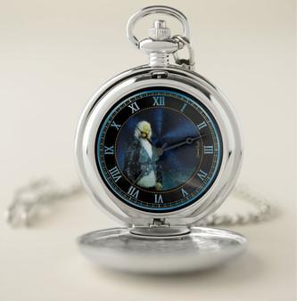 Goya  Duke Portrait Pocket Watch by Neoclassical Pop Art