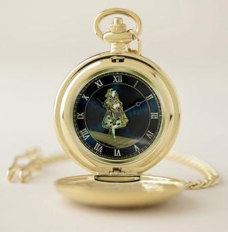 Manet Spanish Lola Pocket Watch by Neoclassical Pop Art