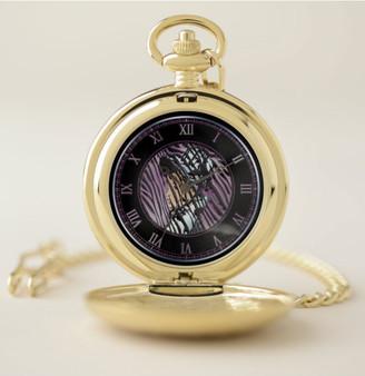 Manet Portrait Pocket Watch by Neoclassical Pop Art