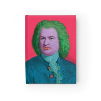 On Sale Bach Pop Portrait Blank Journal by Neoclassical Pop Art
