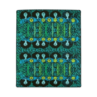 On Sale Klimt Beethoven Fleece Blanket by Neoclassical Pop Art