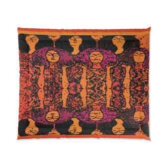 On Sale Gustav Klimt Beethoven Frieze Comforter by Neoclassical Pop Art