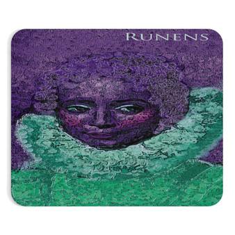 On Sale Rubens Infanta Isabella Purple Green Mousepad by  Neoclassical Pop Art