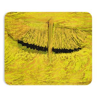 On Sale Leonardo Da Vinci Study of Wing Yellow Mousepad by Neoclassical Pop Art