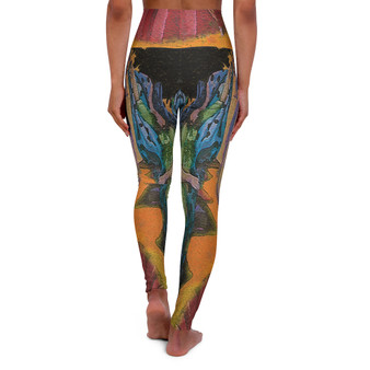 On Sale Botticelli's Birth of  Venus High Waisted Yoga Leggings by  Neoclassical Pop Art