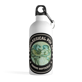 On Sale Botticelli Collectible Art Stainless Steel Water Bottle by Neoclassical Pop Art