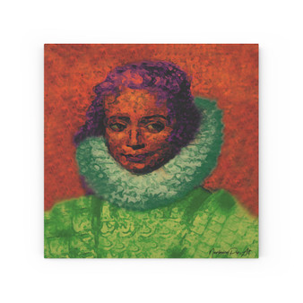On Sale Rubens Isabella Portrait Print on Wood Canvas by Neoclassical Pop Art