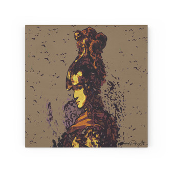 On Sale Rembrandt Goddess of Strategy Athene Print on Wood Canvas by Neoclassical Pop Art