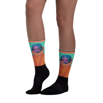 Buy online Rubens Blond Infanta Isabella collectible Black foot artist  socks by Neoclassical Pop Art online designer brand  store