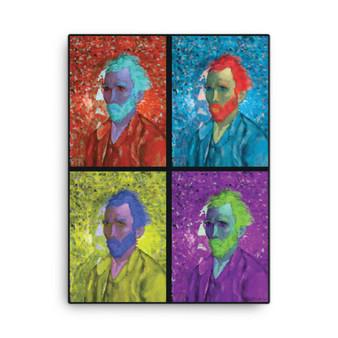 Van Gogh  | Neoclassical Pop Art Portrait Canvas