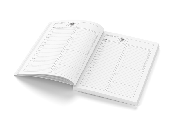 Undated planner by BWM collection