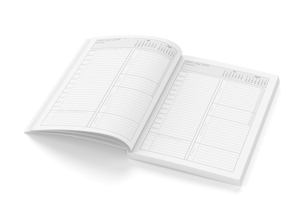 George de la Tour planner organizer notebook 2019 by BWM Collection