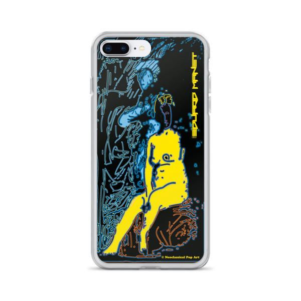 on sale Yellow Blue Neoclassical Pop Art Eduard Manet nude iPhone cases