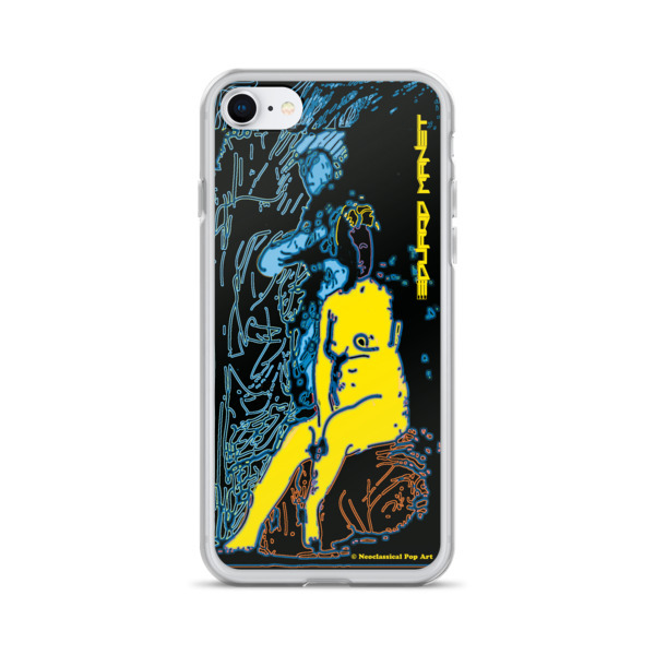 shop for Yellow Blue Neoclassical Pop Art Eduard Manet nude iPhone cases
