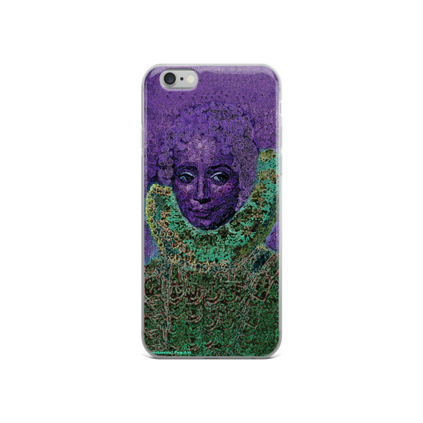 buy purple green neoclassical pop art iphone case featuring the best sir peter paul rubens clara serena portrait