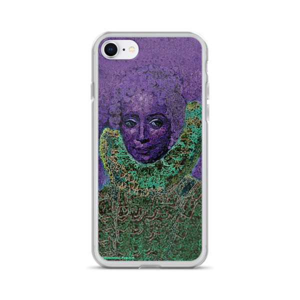 buy online purple green neoclassical pop art iphone case featuring the best sir peter paul rubens clara serena portrait