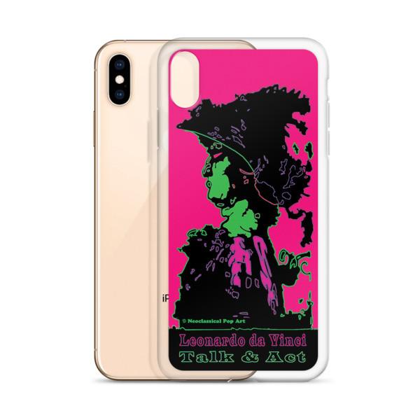 shop online Neoclassical pop art Leonardo da vinci Sweet pink and green iphone case