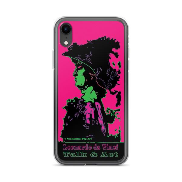 on sale Neoclassical pop art Leonardo da vinci Sweet pink and green iphone case