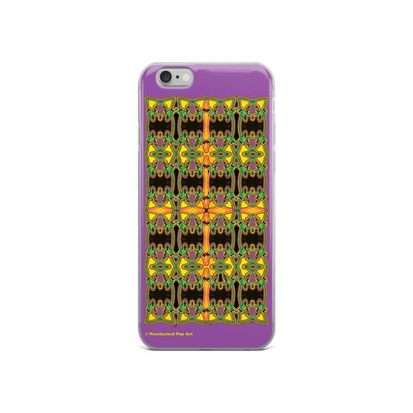 Cool Leonard da Vinci Neoclassical pop art golden cross iphone case cover