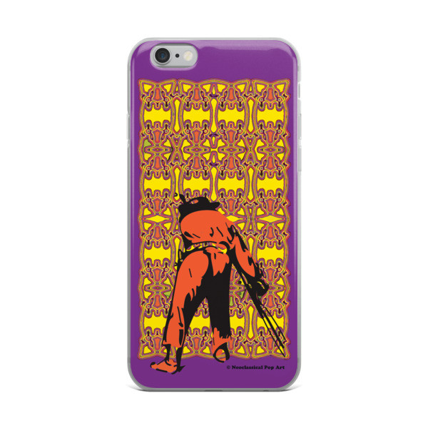 online shop for Neoclassical pop art yellow orange purple Manet ft. da Vinci iPhone Cases
