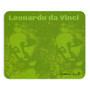 On Sale LDa Vinci La Scapigliata Green Mousepad by  Neoclassical Pop Art