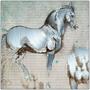 On Sale Da Vinci Sforza's Horse Metal Prints by Neoclassical Pop Art
