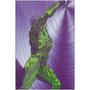On Sale  Rubens  Anatomical Figure Purple Green Print on Metal by Neoclassical Pop Art