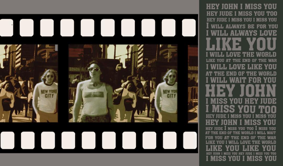 John Lennon Priya N. Chen Video Art
