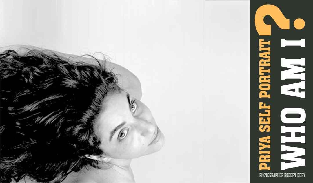 priya n. chen self portrait by the NY nuseum artist Robert Bery