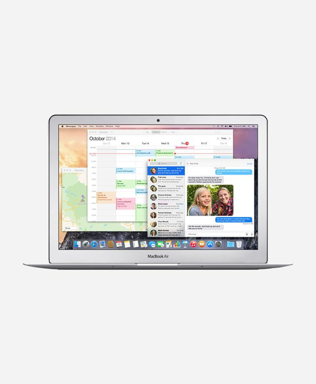Macbook Air 13 3-inch (Glossy) 1 6GHZ Dual Core i5 (Early 2015)   - Apple  MJVE2LL/A