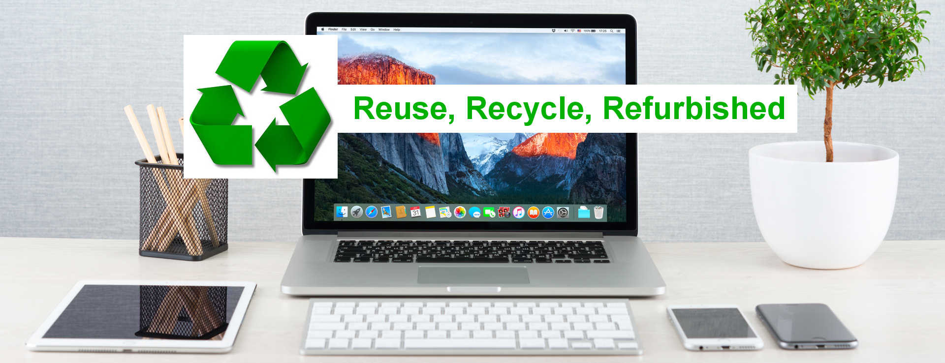 Five Reasons to Go Green with GainSaver Refurbished Macs