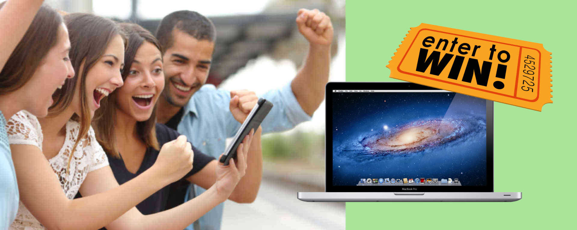 Enter to win a $700 Macbook Pro in the GainSaver April-May 2016 Sweepstakes