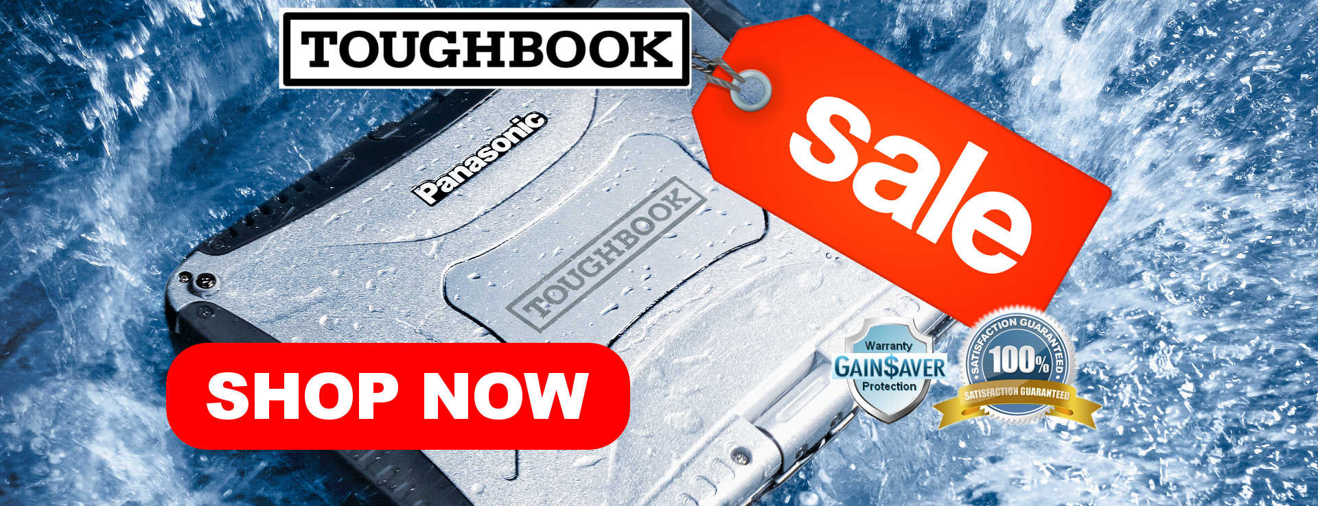 Refurbished Panasonic Toughbooks and Toughpads On Sale Now!