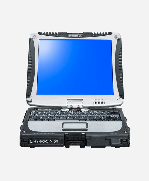 Used Toughbook CF-19 Core i5 2 5GHz 10 1 Panasonic CF-19 Front