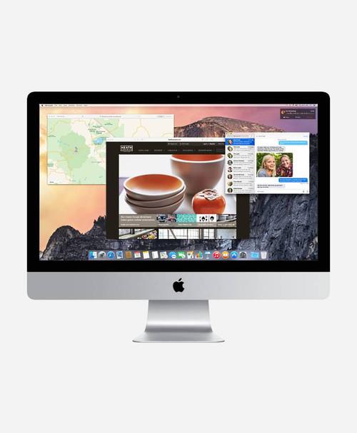 Refurbished Apple iMac (Late 2014) Front