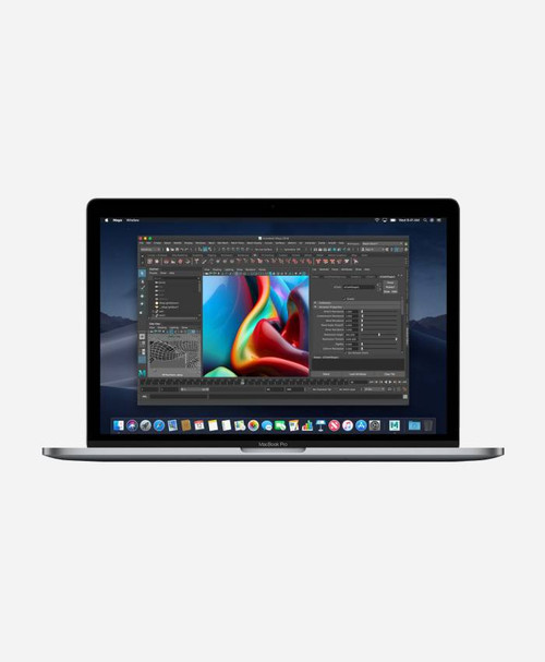 Refurbished Apple Macbook Pro (Mid 2018) Silver Touch Front