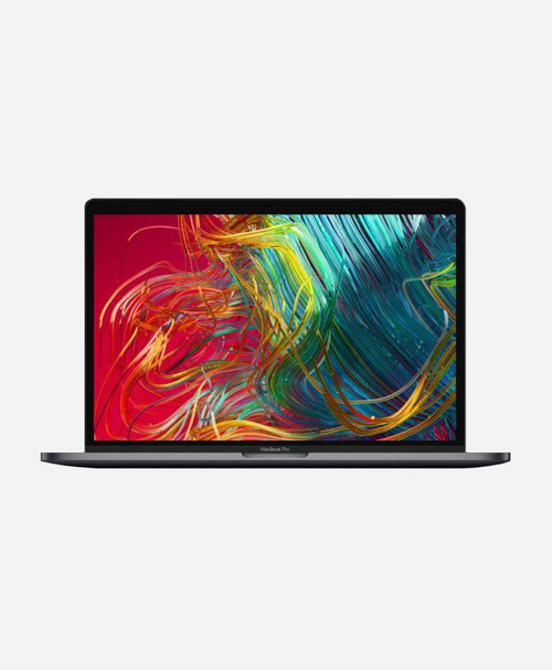Refurbished Apple Macbook Pro (Mid 2018) Space Gray Touch Front