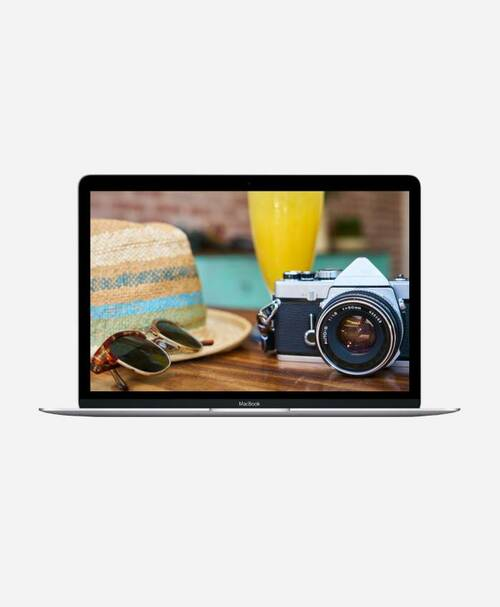 Refurbished Apple Macbook (Mid 2017) Silver Retina Front