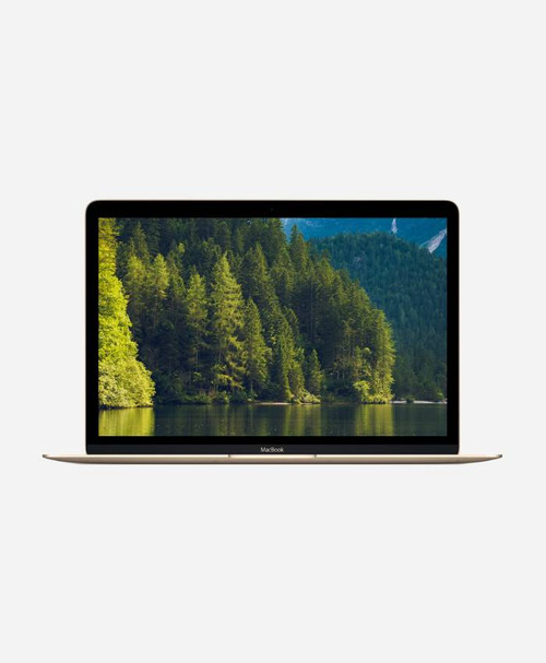 Refurbished Apple Macbook (Mid 2017) Gold Retina Front
